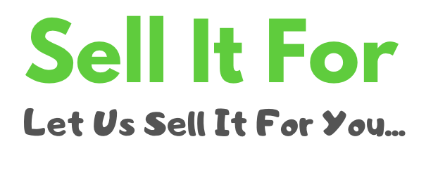 Sell It For - What could you sell your goods for?